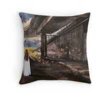 Cocoon....A collaboration with earthairfire Throw Pillow
