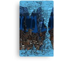 The Underground Favela. Canvas Print