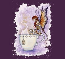Warm Toes Tea Faery Womens Fitted T-Shirt