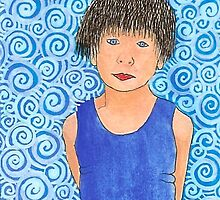 Blue Boy by Leonie Barton