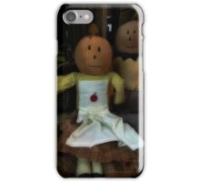 Pumpkin heads iPhone Case/Skin
