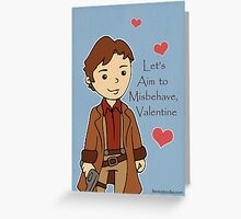 Firefly Mal Valentine Greeting Card