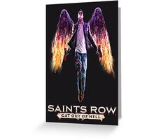 Saints Row: Gat out of Hell Greeting Card