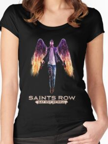 Saints Row: Gat out of Hell Women's Fitted Scoop T-Shirt
