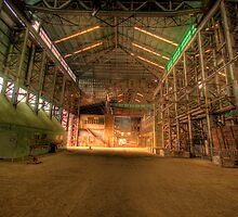 One Room - Plenty of Room - Cockatoo Island - The HDR Series by Philip Johnson