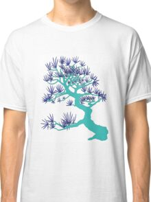 Turquoise Pine Bonsai Classic T-Shirt
