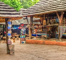African trading post for Tourists_ South Arica by seabird