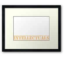 8th Day Intellectuals T-shirt Framed Print
