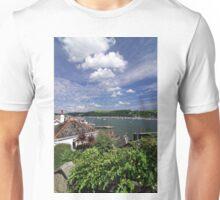 Dart Marina Viewed From Clarence Hill Road, Dartmouth, Devon, UK Unisex T-Shirt