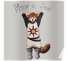 Sun Warrior Red Panda! Poster