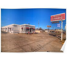 Boots Court - Springfield, Ohio Poster