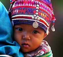 AKHA BABY - GOLDEN TRIANGLE by Michael Sheridan
