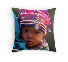 AKHA BABY - GOLDEN TRIANGLE Throw Pillow