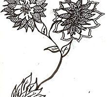 Dizzy Flowers  by lovelyname16