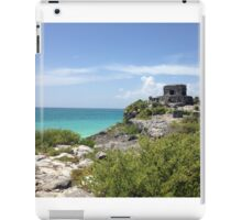 Mayan Ruins at Tulum iPad Case/Skin