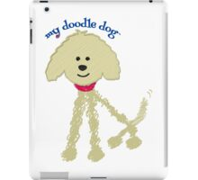 Goldendoodle - Love My Goldendoodle iPad Case/Skin