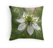 In a mist Throw Pillow