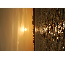 Warm Sun On The Water Photographic Print