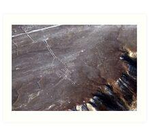 Small Hummingbird of Nazca Art Print