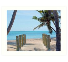 Welcome To Paradise! Art Print