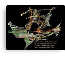 Shipwrecked Faith Canvas Print