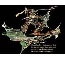 Shipwrecked Faith Photographic Print