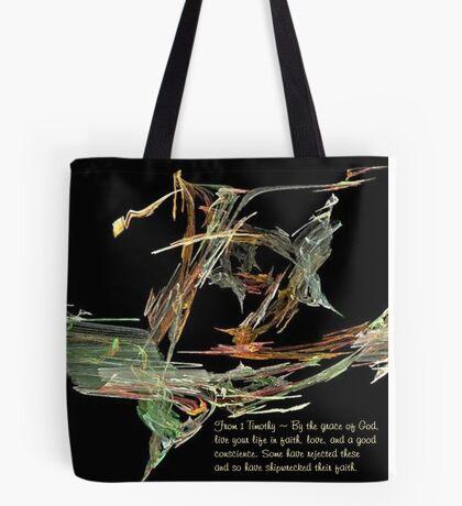 Shipwrecked Faith Tote Bag