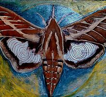 Spiral Butterfly VII by Shira Chai