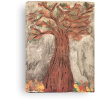 The Reaping Willow Tree Canvas Print