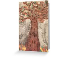 The Reaping Willow Tree Greeting Card