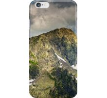 Fagaras mountains in Romania, Negoiu peak iPhone Case/Skin