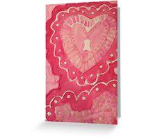 Love Cookie Greeting Card