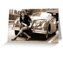 Car Ornament Greeting Card