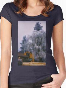 Frozen Willow Women's Fitted Scoop T-Shirt