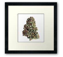 King Kush Framed Print