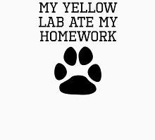 My Yellow Lab Ate My Homework T-Shirt