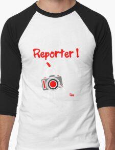 Red - The New Guy - Let me pass .. Reporter ! Men's Baseball ¾ T-Shirt