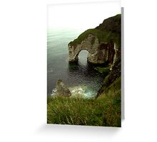 NI - NorthEast coastal delight Greeting Card