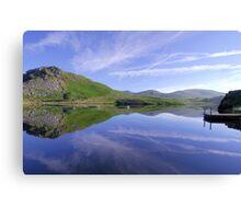 Lake placid Canvas Print
