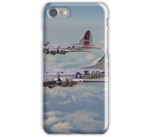 B17- 381st Bomb Group en-route iPhone Case/Skin