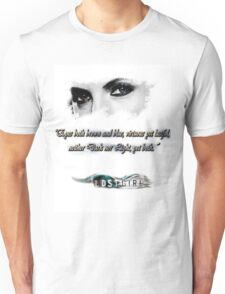 Lost Girl - Both eyes brown and blue Unisex T-Shirt