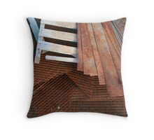 Raw Materials Throw Pillow