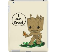 Guardians of the Galaxy - I Am Groot! iPad Case/Skin