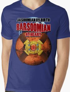 Jasoomian By Birth, Barsoomian At Heart Mens V-Neck T-Shirt
