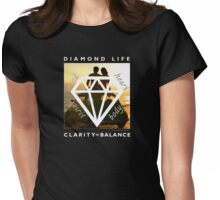 Diamond Life: Clarity ∞ Balance (boho style) Womens Fitted T-Shirt