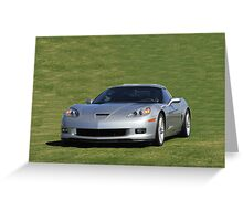 2008 Corvette Zr1 Greeting Card