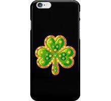 Jewelry shamrock iPhone Case/Skin