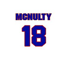 National baseball player Bill McNulty jersey 18 Photographic Print