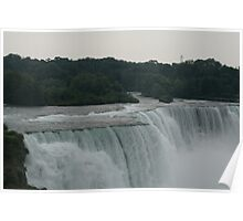 The Top of the Falls Poster