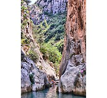 Fonts d'Algar, Callosa d'en Sarria, Costa Blanca, Spain Photographic Print